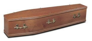 Sapele Bow Coffin