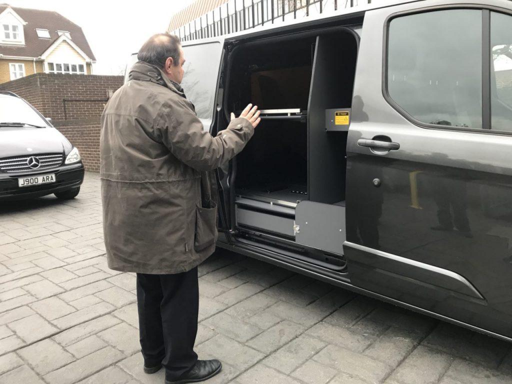 New Transfer Vehicle - A R  Adams Funeral Directors