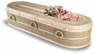 Pandanus Coffin, Round Ended